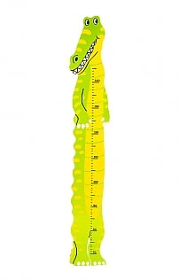 Traditional Wooden Height Chart