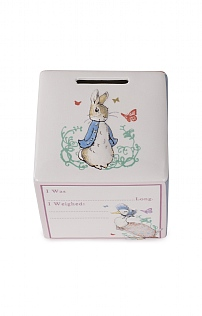 Beatrix Potter New Baby Moneybank