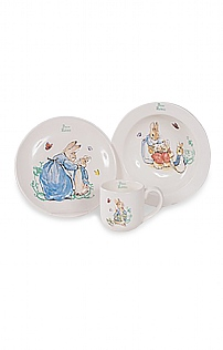 Beatrix Potter 3 Piece Nursery Set
