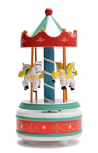 Large Music Box Carousel