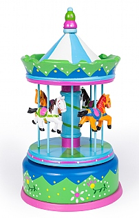 Grand Music Box Carousel