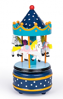 Medium Music Box Carousel