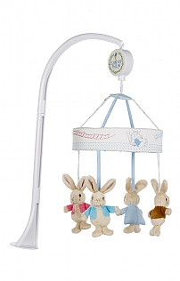 Beatrix Potter Musical Cot Mobile