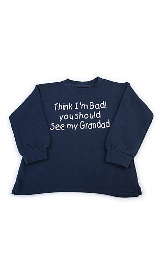 Child's Slogan Sweatshirt