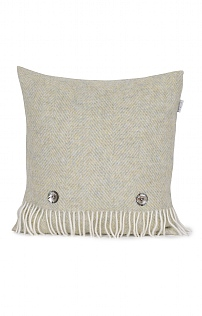 Lambswool Herringbone Cushion