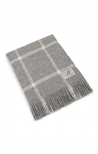 Windowpane Merino Throw