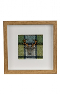 Small Framed Stag Picture