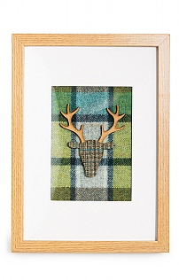 Large Framed Stag Picture