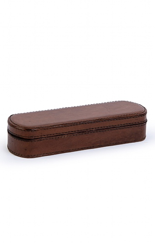 Leather Pen Box