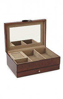 Leather Classic Jewellery Box