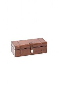 Leather 3 Watch Box