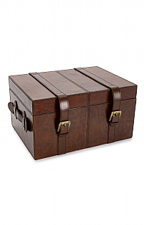 Leather Store Trunk