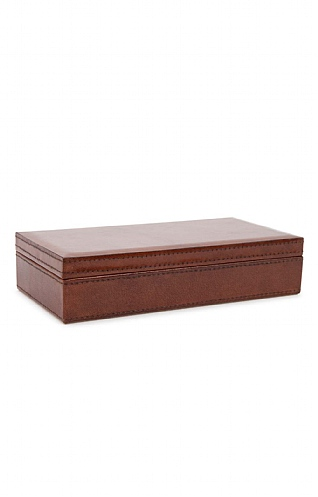 Leather Cufflink Box