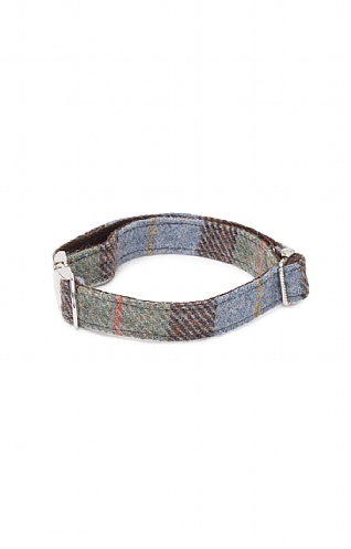 Small Harris Tweed Dog Collar