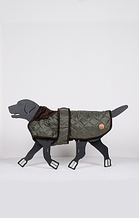 Medium Quilted Dog Coat