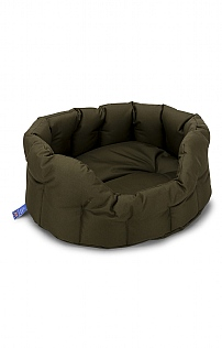 Small Waterproof Oval Dog Bed