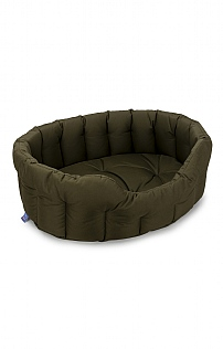 Large Waterproof Oval Dog Bed