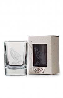 Burns Crystal Single Dram Glass
