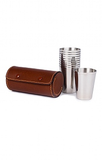 Stainless Steel 10 Cup Set
