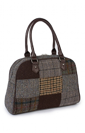 Harris Tweed Patch Bag