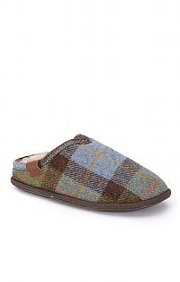 Men's Harris Tweed Mules