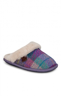 Harris Tweed Ladies Mules