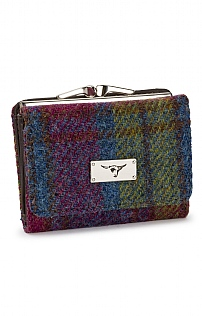 Unst Harris Tweed Clasp Purse