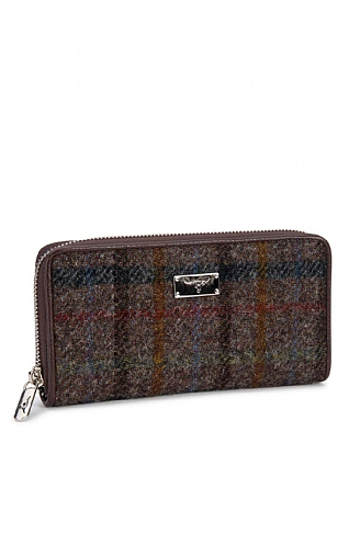 Staffa Harris Tweed Zip Purse