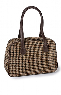 Harris Tweed Square Handbag