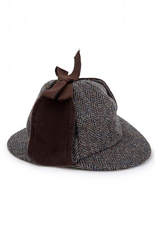 Harris Tweed Deerstalker Hat