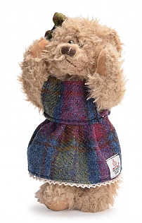 25cm Individually Dressed Harris Tweed Bears