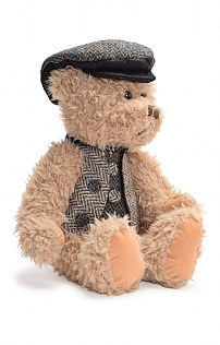 35cm Individually Dressed Harris Tweed Bears