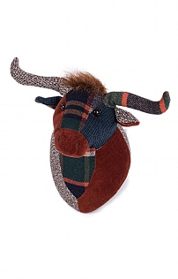 Patchwork Highland Cow Trophy