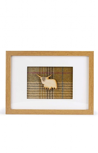 Framed Tweed Picture