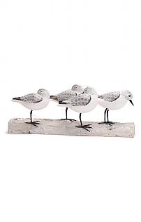 Hand Carved Sanderling Block