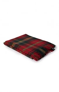 Merino Lambswool Tartan Throw