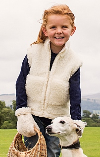Child's Pure New Wool Gilet