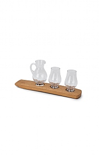 Two Whisky Glasses & Jug