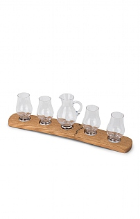 Four Whisky Glasses & Jug