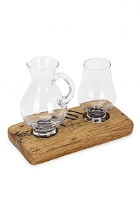 Whisky Barrel Set For One