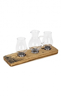 Whisky Barrel Set For Two