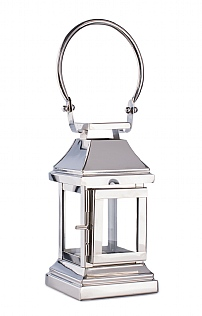 Small Silver Station Lantern