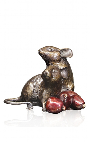 Mice with Rosehip by Michael Simpson