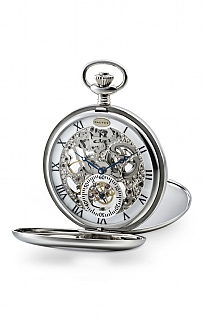 Dalvey Skeletal Pocket Watch with Stand
