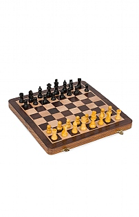 Chess Set With Folding Board