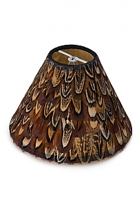 13cm Feather Lampshade