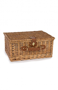 Two Person Wicker Hamper