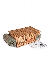 Four Person Wicker Hamper