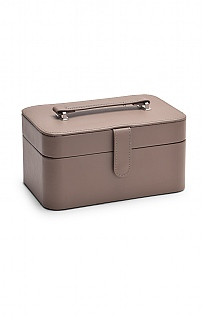 Leather Anastasia Jewellery Box