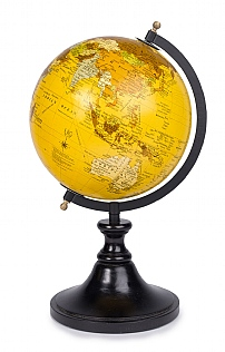 Small Traditional World Globe